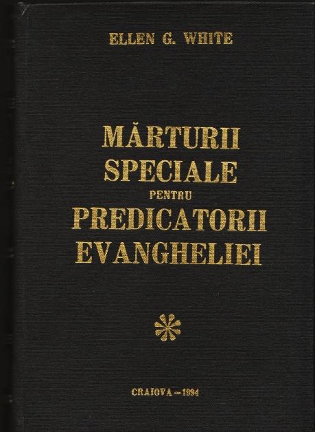 marturii speciale
